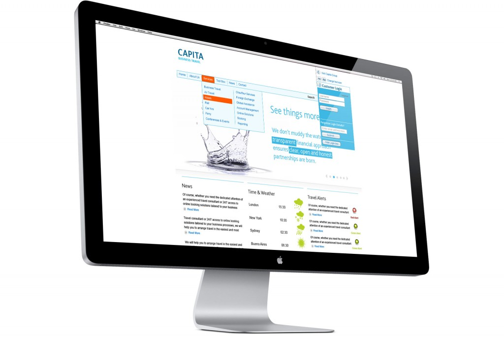 capita business travel website
