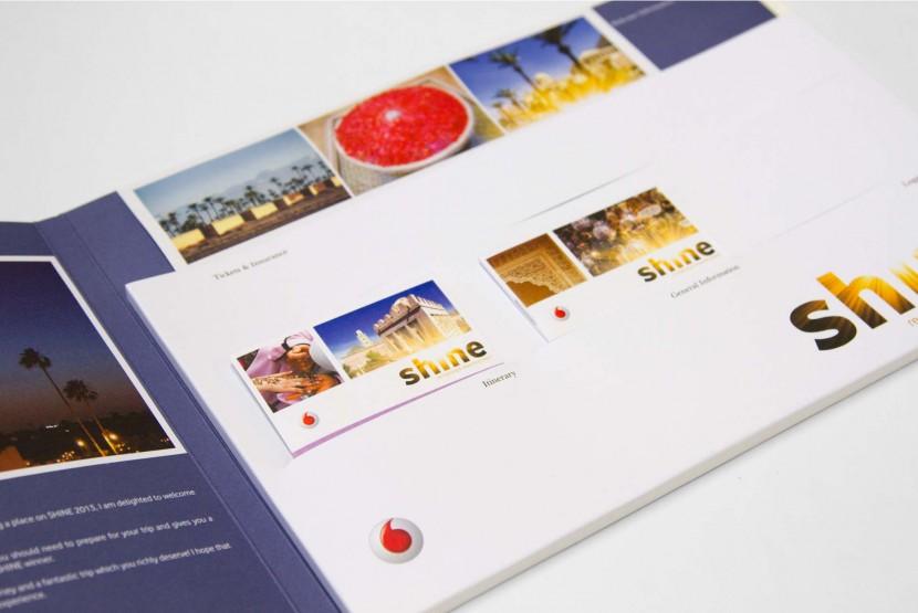 Vodafone Document Wallet Inner