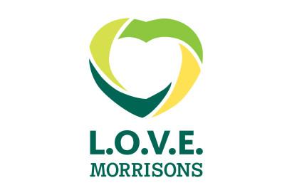 L.O.V.E. Morrisons logo