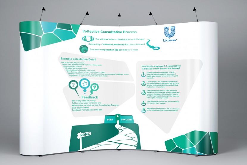 Unilever Exhibition Stands three