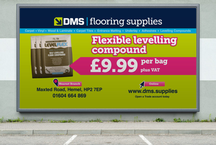 DMS Flooring Supplies Billboards Product