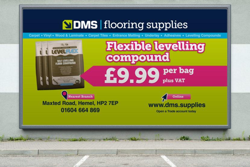 DMS Flooring Supplies Billboards Product