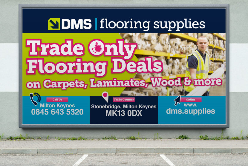 DMS Flooring Supplies Billboards Staff