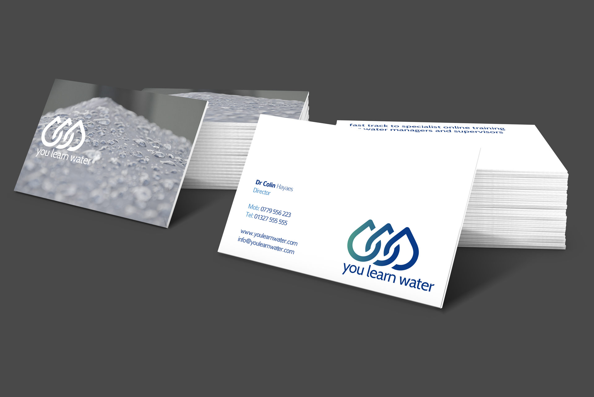 YouLearnWater Business Cards