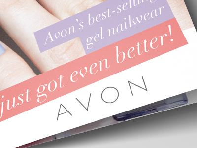 AVON Brochure Cover